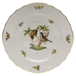Rothschild Bird Salad Plate, Motif #12