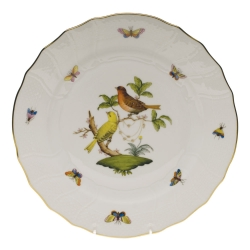 Rothschild Bird Dinner Plate, Motif #6