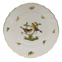 Rothschild Bird Dinner Plate, Motif #9