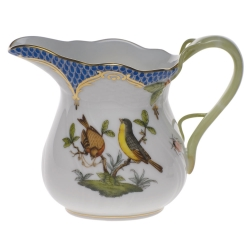 Rothschild Bird Blue Border Creamer