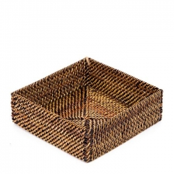 Rattan Small Cocktail Napkin Holder
