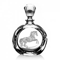 Rearing Horse Decanter