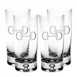 Cheval-Equestrian Highballs, Set of Four