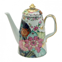 Tobacco Leaf Coffee Pot