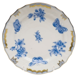Fortuna Blue Bread and Butter Plate