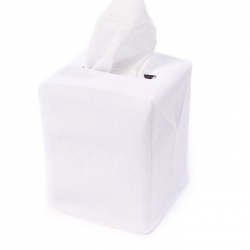 White Tissue Box Cover Lv Harkness