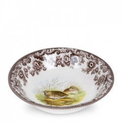 Woodland Quail Ascot Cereal Bowl