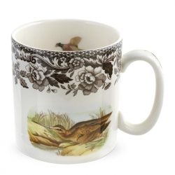 Woodland Snipe and Quail Mug