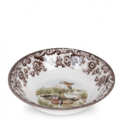 Woodland Wood Duck Ascot Cereal Bowl
