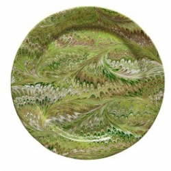 Firenze Pistachio Charger Plate