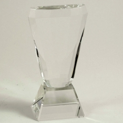 Crystal Trophy with Base
