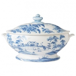Country Estate Delft Blue Medium Tureen