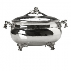 Grape Leaf Tureen with Lid
