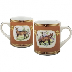 American Wildlife Fox/Doe Mug