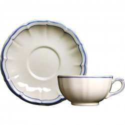 Filet Bleu Breakfast Cup and Saucer