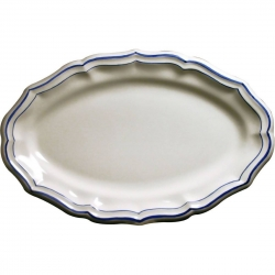 Filet Bleu Oval Platter