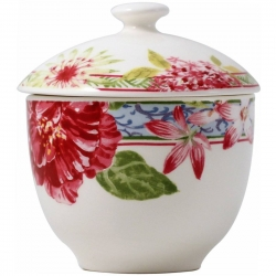 Millefleurs Covered Sugar Bowl