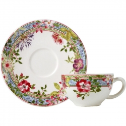 Millefleurs Tea Cup and Saucer