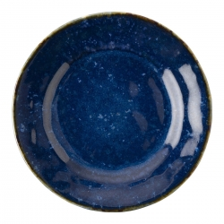 Puro Dappled Cobalt Side/Cocktail Plate