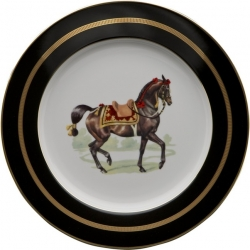 Imperial Horse Buffet Plate