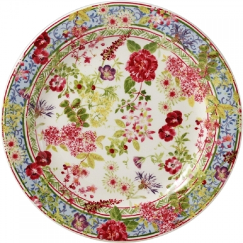 Millefleurs canape plate lv harkness company for What is a canape plate