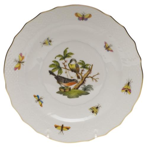 Rothschild Bird Salad Plate, Motif #2
