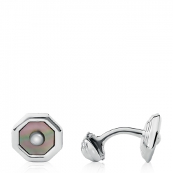 Mother of Pearl T-bar Cufflinks