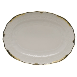 Princess victoria Black Oval Platter