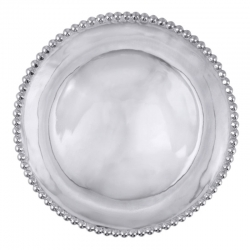 Pearled Round Platter