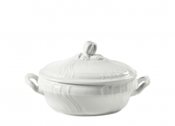 Vecchio Ginori White Oval Soup Tureen and Cover