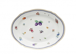 Italian Fruit Oval Platter