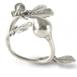 Radish Pewter Napkin Ring