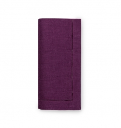 Festival Aubergine Dinner Napkins, Set of Four