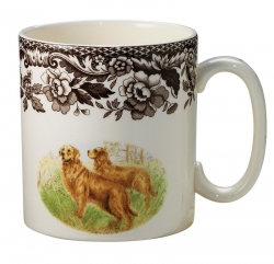 Woodland Golden Retriever Mug