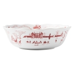 Country Estate Winter Frolic Serving Bowl