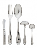 Impero Stainless Five Piece Hostess Set