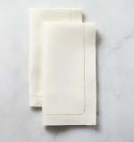 Classico Ecru Cocktail Napkins, Set of 6