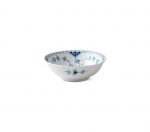 Blue Fluted Half Lace Cereal Bowl