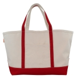 Large Red Boat Tote