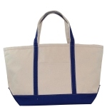 Large Royal Blue Boat Tote