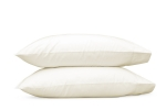 Ivory Sierra Standard Pillowcase, Pair