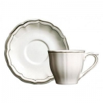 Filet Taupe Saucer