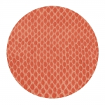 Coral Snakeskin Coasters