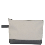 Gray Make-Up Bag