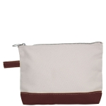 Brown Make-Up Bag