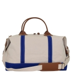 Royal Blue Weekender Satchel