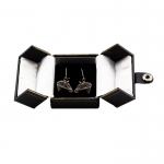 Horse Head Bridle Earrings - Satin Finish