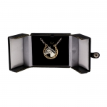 Horseshoe & Horse Head Silver & Gold Small Pendant Necklace