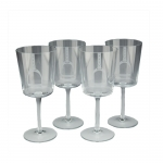 Stirrup Water Glasses, Set of 4