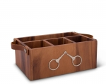 Wood Flatware Caddy